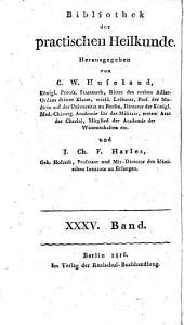 Bibliothek der practischen Heilkunde: Volume 35