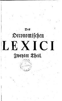 Allgemeines   konomisches Lexicon    0 PDF
