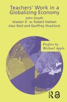 Teachers  Work in a Globalizing Economy PDF