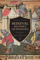Medieval Military Technology  Second Edition PDF