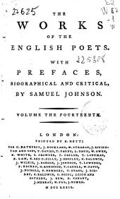 The Works of the English Poets: Volumes 27-28