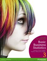 Basic Business Statistics  Concepts and Applications PDF