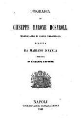 Biografia di Giuseppe barone Rosaroll, maresciallo di campo napolitano