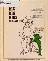 Big Big Kids PDF