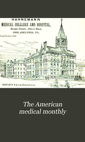 The American Medical Monthly: Volume 20