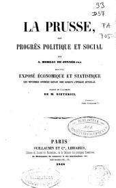 La Prusse, son progrès politique et social
