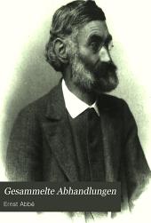 Gesammelte Abhandlungen: Bd. Vorträge, Reden und Schriften sozialpolitischen und verwandten Inhalts. 1906. xiii, [2], 402 p. front. (port.)