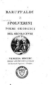 Poemi georgici del secolo XVIII