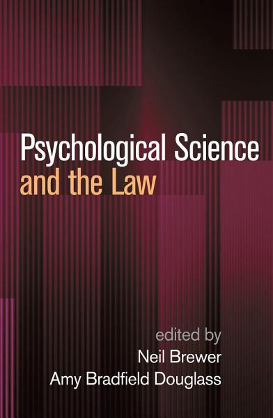 Download Psychological Science and the Law Book