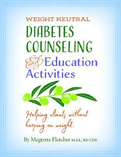 Diabetes Counseling   Education Activities  Helping clients without harping on weight Book