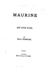 Maurine, and Other Poems