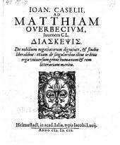 Diaskepsis de nobilium negotiatorum dignitate et studiis liberalibus etc. - Helmaestadii, Jacobus Lucius 1609