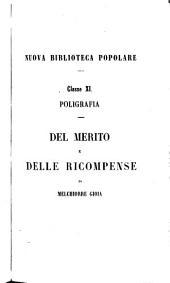 Del merito e delle ricompense: trattato storico e filosofico, Volume 2