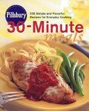 Download Pillsbury 30 Minute Meals Book