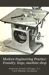 Foundry, forge, machine shop