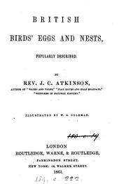 British Birds' Eggs and Nests, Popularly Described