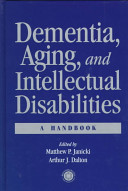 Dementia  Aging  and Intellectual Disabilities PDF