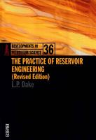 The Practice of Reservoir Engineering  Revised Edition  PDF