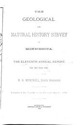 Annual Report - Geological and Natural History Survey of Minnesota: Volumes 11-12