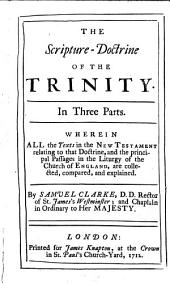 The Scripture-doctrine of the Trinity