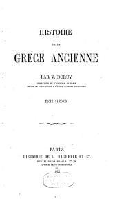Histoire de la Grèce ancienne: Volume2