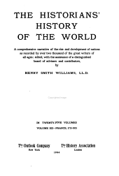 The Historians' History of the World: France, 1715-1815