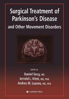 Surgical Treatment of Parkinson   s Disease and Other Movement Disorders PDF