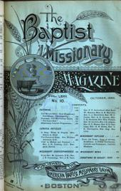 The Baptist Missionary Magazine: Volumes 67-68