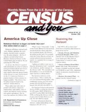 Census and you: monthly news from the U.S. Bureau of the Census, Volume 30, Issue 10
