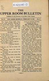 Upper Room Bulletin: Volume 4, Issue 17