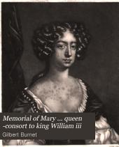 Memorial of Mary ... queen -consort to king William iii