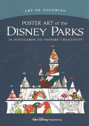 Art of Coloring  Poster Art of the Disney Parks