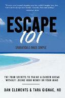 Escape 101 Book