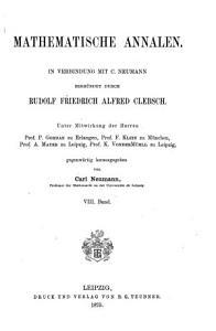 Mathematische Annalen PDF