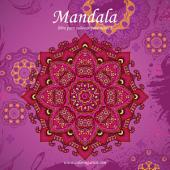 Mandala libro para colorear para niños 2
