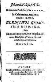 Elenchus Geometriae Hobbianae