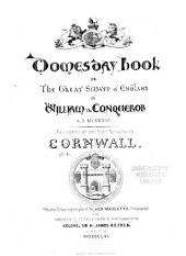 Domesday book: or, The great survey of England of William the Conqueror A.D. MLXXXVI, Volume 6