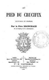 Au pied du crucifix, lectures et prières