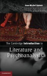 The Cambridge Introduction to Literature and Psychoanalysis PDF