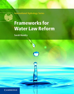 Frameworks for Water Law Reform PDF
