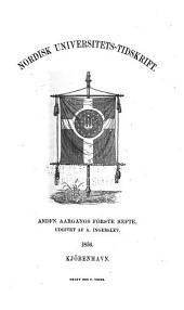 Nordisk universitets-tidskrift: Bind 2