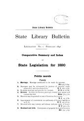 Legislation Bulletin: Issues 1-5