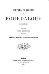 Oeuvres complètes de Bourdaloue: Volume2