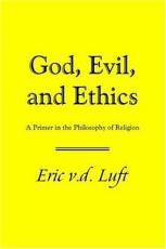 God  Evil  and Ethics PDF