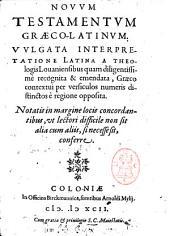 Novum testamentum graeco-latinum