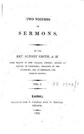 Two Volumes of Sermons: Volume 1