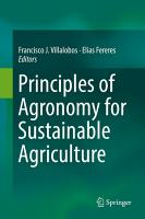Principles of Agronomy for Sustainable Agriculture PDF