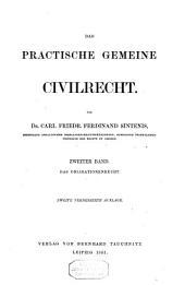 Das practische gemeine civilrecht: Band 2