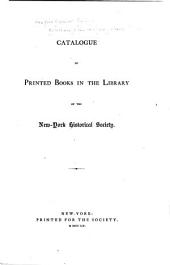 Collections of the New York Historical Society: Volume 2; Volume 4