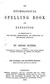 The etymological spelling book and expositor ... Ninety-sixth edition